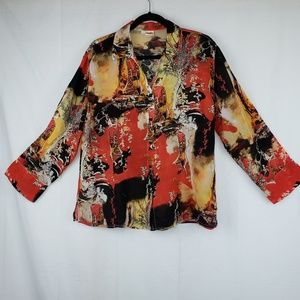 Tianello rayon blouse large